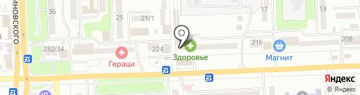 Роза Вест на карте Ростова-на-Дону