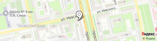 Специалист, ЧУ ДПО на карте Липецка