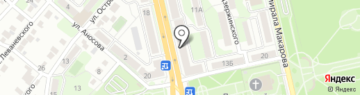 Банкомат, Банк ВТБ 24 на карте Липецка