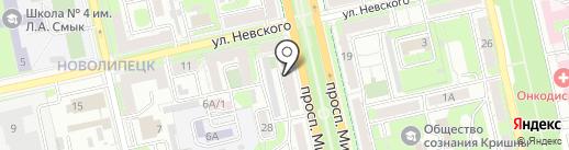 ЖЭУ №3 на карте Липецка