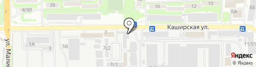 ДорХан на карте Ростова-на-Дону