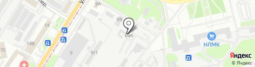 RiM-House на карте Липецка