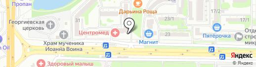 ЗдравСити на карте Ростова-на-Дону