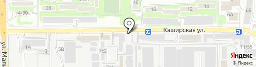 МАРИБО на карте Ростова-на-Дону
