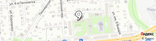 Липецкие известия на карте Липецка