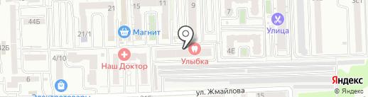 Кега на карте Ростова-на-Дону