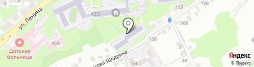 ЛГПУ на карте Липецка