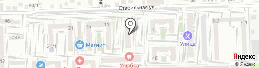 Авантаж на карте Ростова-на-Дону