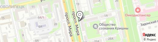 Мастерская по ремонту обуви и кожгалантереи на карте Липецка