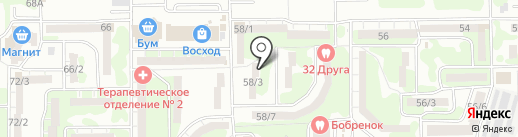 Престиж-Сервис на карте Ростова-на-Дону