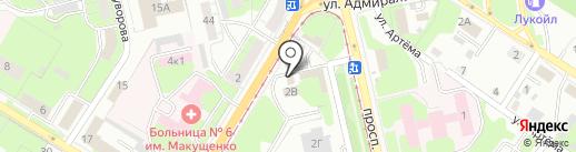 Анна на карте Липецка