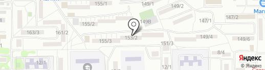 КУД-4 на карте Ростова-на-Дону