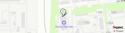 Синергия на карте Липецка