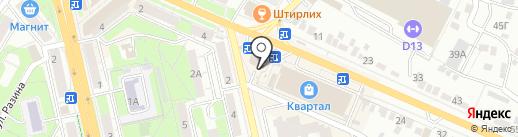 СамТехник на карте Липецка