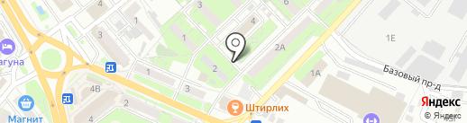 Индуктор на карте Липецка