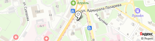 Авиа/ЖД на карте Липецка