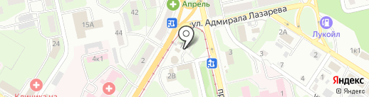 Липецкий металлопрокатный завод на карте Липецка