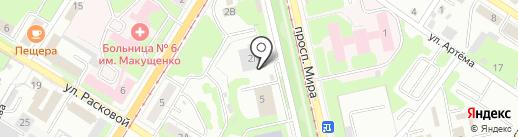 Встреча на карте Липецка