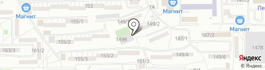 ДЮСШ №12 на карте Ростова-на-Дону