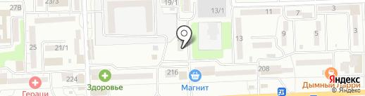 Пенный город на карте Ростова-на-Дону