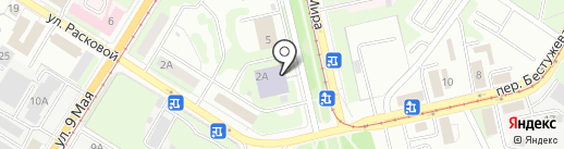 Новолипецкий металлургический комбинат на карте Липецка
