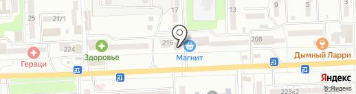 Забава на карте Ростова-на-Дону