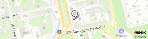 Золотой чебурек на карте Липецка