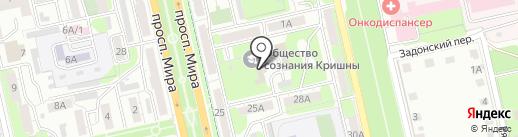 СК Сигма на карте Липецка