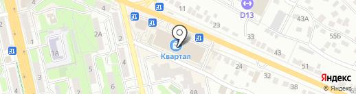 Вероника на карте Липецка