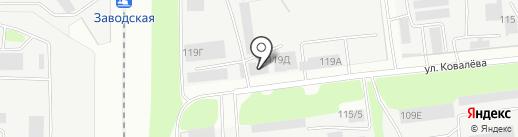 Сокол-прачечная на карте Липецка