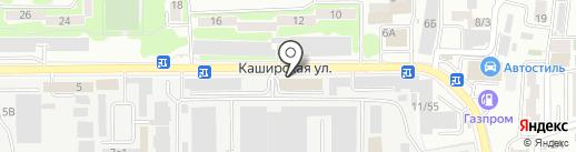 Компания по ремонту и обслуживанию окон на карте Ростова-на-Дону