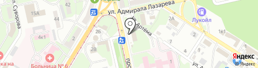 Пекарня на карте Липецка