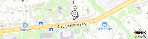 Кабак на карте Липецка