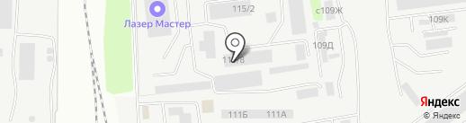 СиМ на карте Липецка