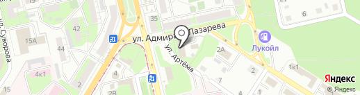 Инженерно-экологический центр на карте Липецка