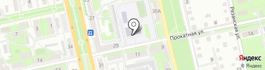 Православная гимназия им. преподобного Амвросия Оптинского на карте Липецка