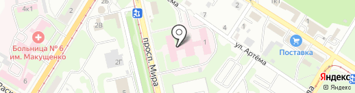 Багира на карте Липецка