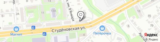 Авторесурс на карте Липецка