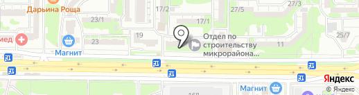 Студия красоты Натальи Басовой на карте Ростова-на-Дону