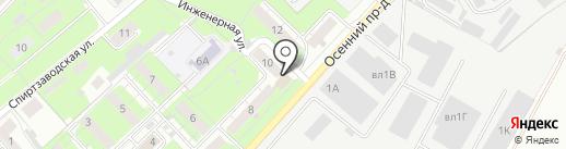 СДЮСШОР №9 на карте Липецка