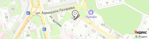 Меткомплектфинанс на карте Липецка