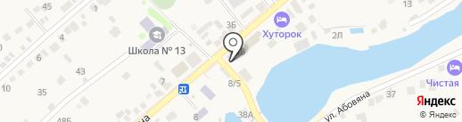 Симон на карте Ленинавана