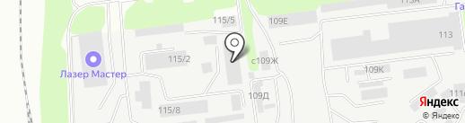 МультиТек Групп на карте Липецка