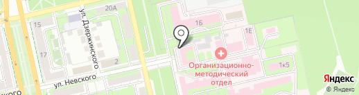 Липецкий областной противотуберкулезный диспансер на карте Липецка