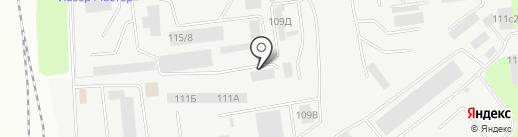 Производственная компания на карте Липецка