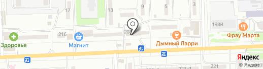Магазин косметики на карте Ростова-на-Дону