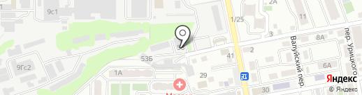 ЛинаПак на карте Ростова-на-Дону
