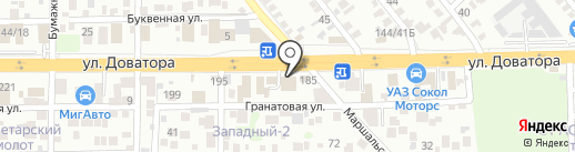 Профиль на карте Ростова-на-Дону
