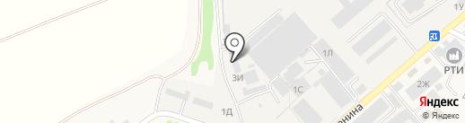 Флоренция на карте Ленинавана