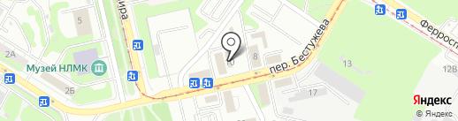 Отдел военного комиссариата по Липецкому району на карте Липецка